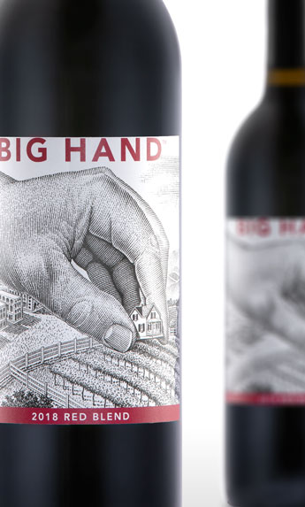 2018 Big Hand Red Blend - Columbia Valley - Big Hand Wines