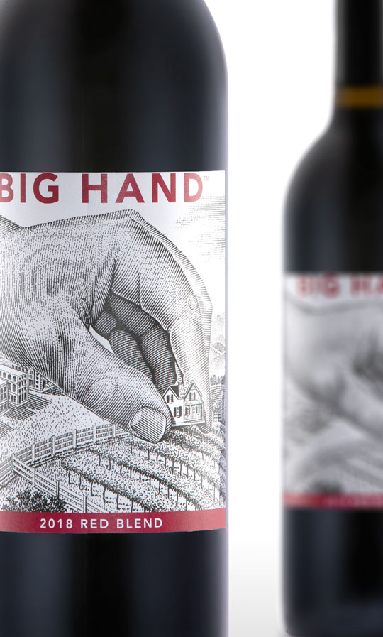 Big Hand 2018 Red Blend - Columbia Valley Wines